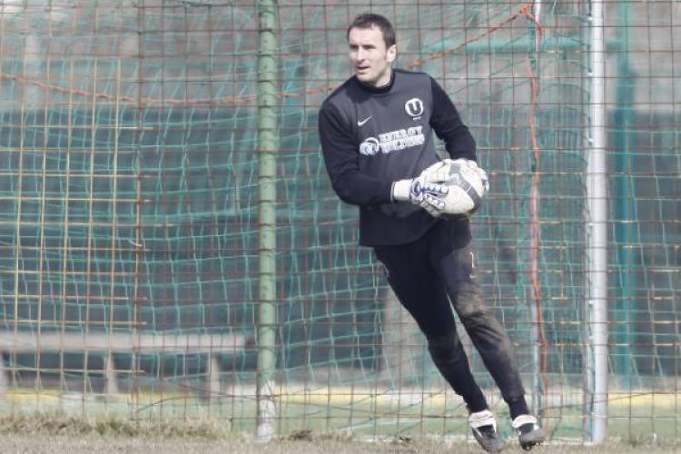 Jucatorii de la U Cluj isi propun sa ajunga pe primul loc in Liga secunda