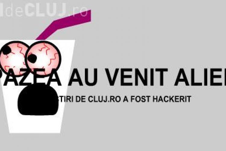 STIRI DE CLUJ.ro a fost hackerit ... de 1 Aprilie