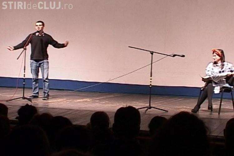 Sala plina la vizionarea filmului Coffee with love realizat de elevi clujeni! Tinerii au fost aplaudati la scena deschisa - VIDEO