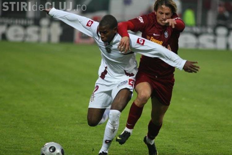 CFR invinge pe Rapid cu 1 - 0 si isi mareste avantajul in clasamentul Ligii 1