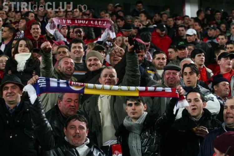 Daca nu aveti domiciliul in Cluj, nu mergeti astazi sa va luati bilete la meciul CFR Cluj-Rapid Bucuresti