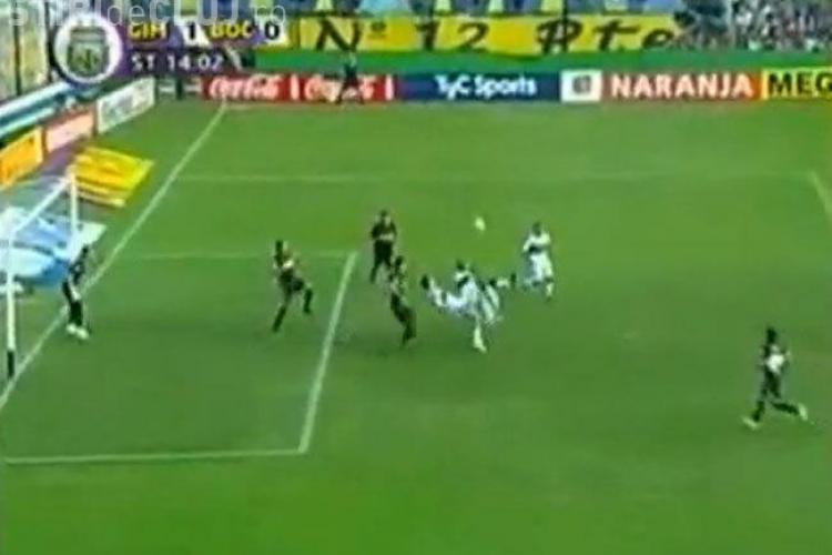"VIDEO - Argentinienii au inventat golul din ""dubla foarfeca"". Boca Juniors invinsa cu un gol antologic"