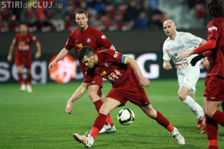 Poli Iasi-CFR Cluj 0-2