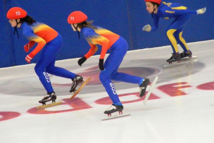 7 locuri I , 3 locuri II si 8 locuri III au obtinut patinatorii clujeni la campionatul national de la Brasov