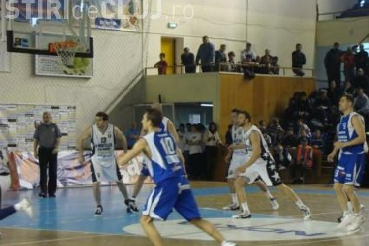 """U"" Mobitelco reuseste o victorie clara in primul meci din play-off cu BC Mures"