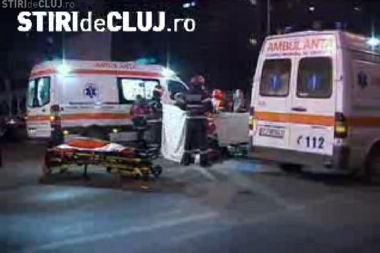 Accident soldat cu un mort sambata seara pe Calea Floresti. Un pieton a fost lovit de doua autoturisme si unul dintre soferi a fugit