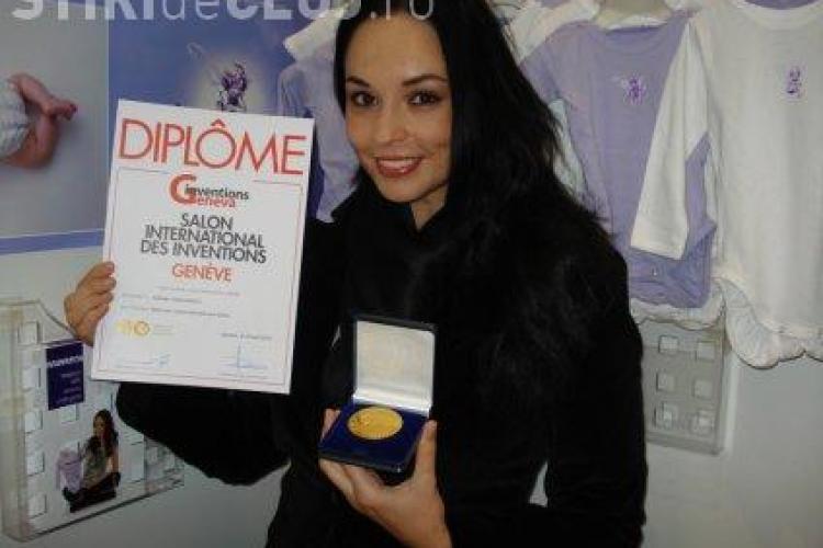 Andreea Banica, medaliata cu aur la Salonul International de Inventii de la Geneva