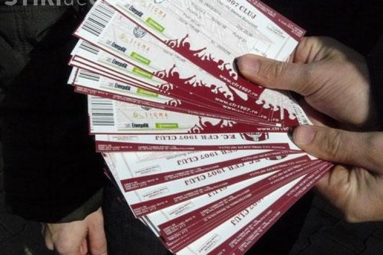 Biletele la meciurile CFR se vor putea cumpara si online