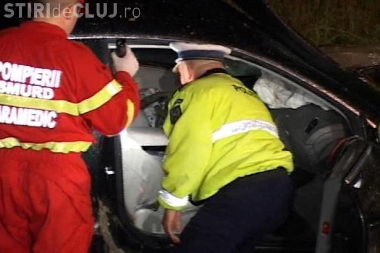 Urmarire ca in filme prin Cluj-Napoca terminata cu un accident in care au fost implicate 3 autoturisme