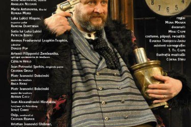Premiera marti seara la Teatrul National din Cluj-Napoca: Revizorul, de N.V, Gogol