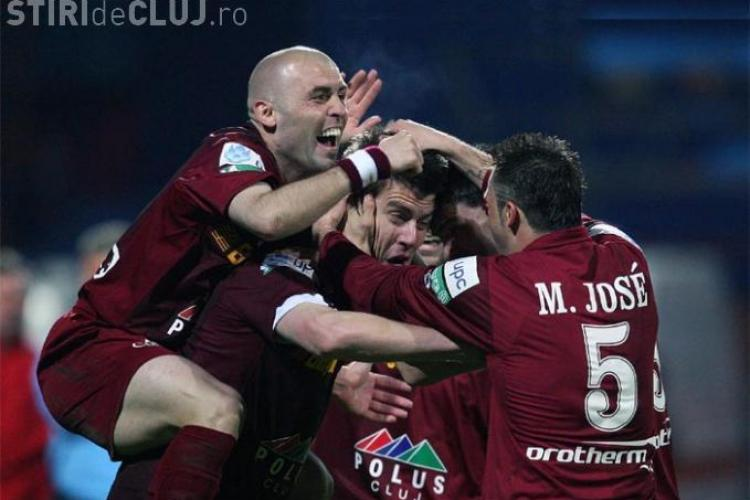 Sefii din Gruia au platit in avans salariile jucatorilor de la CFR Cluj