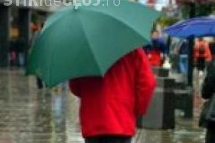 Se strica vremea si meteorologii spun ca vor fi averse de ploaie in zona de Vest a tarii