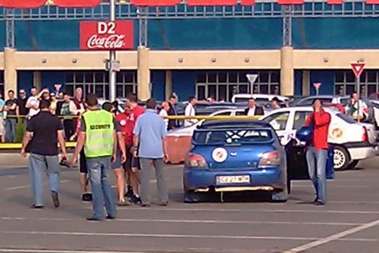 VIDEO - Pilotii de la Napoca Rally Academy si-au pus talentul in slujba SMURD Cluj