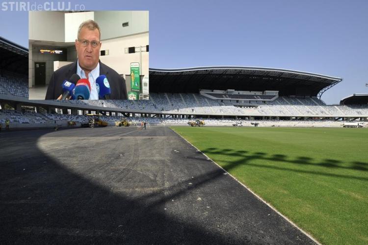 """Muresan, atac la U pe tema chiriei pe Cluj Arena: """"Noi nu am fost niciodata milogi. Noua nu ni se pare mare chiria"""" VIDEO"""