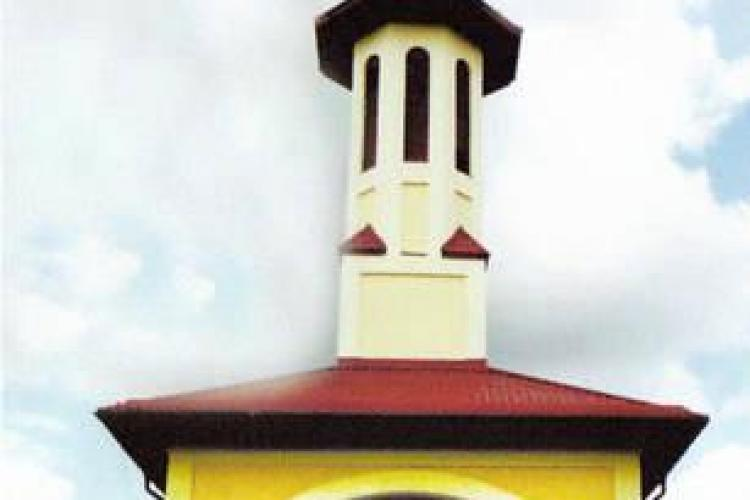 "Biserica din Faget ""Inaltarea Sfintei Cruci"", sfintita duminica"