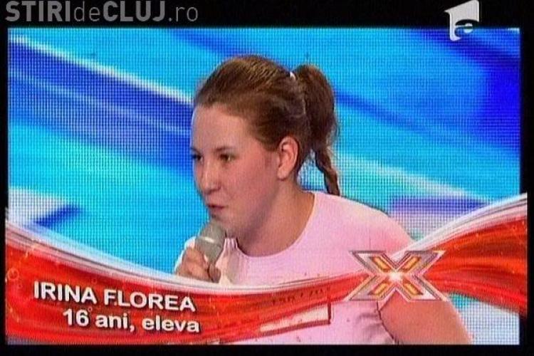 Irina Florea - X Factor - VIDEO! Numai ea a fost lasata sa cante intreaga piesa