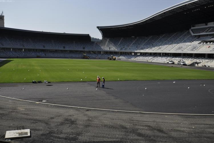 Gazonul de pe Cluj Arena e produs in Austria! Tise: Va rezista perfect