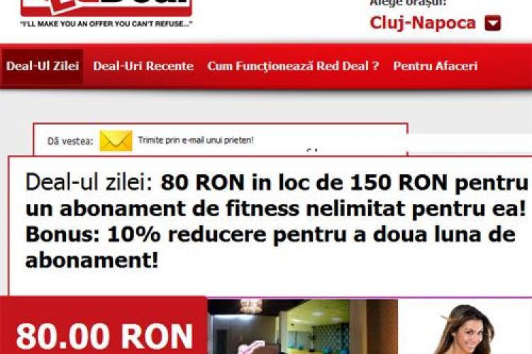 Deal-ul zilei: 80 lei in loc de 150 lei pentru un abonament de fitness nelimitat pentru femei! Bonus: 10% reducere pentru a doua luna de abonament!(P)