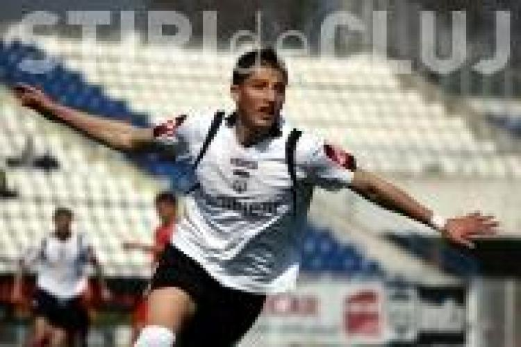 Gol Gicu Grozav! FCM Targu Mures - U Cluj 0-1 VIDEO