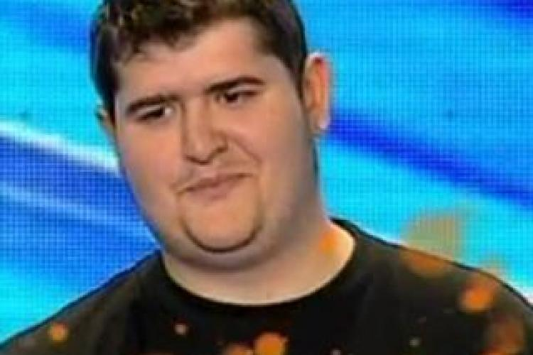 Radu Dan - X Factor -VIDEO! Dani Otil a plans cand l-a auzit cantand