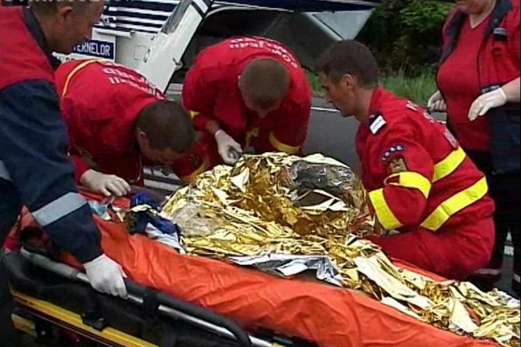 Accident cu doi morti pe DN1 intre Cluj si Alba! Un autoturism a intrat sub un TIR