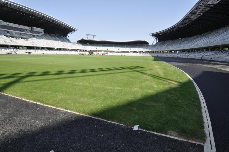Oficialii U Cluj: Speram ca gazonul Cluj Arena sa nu fie afectat de concertele Scorpions si Smokie VIDEO