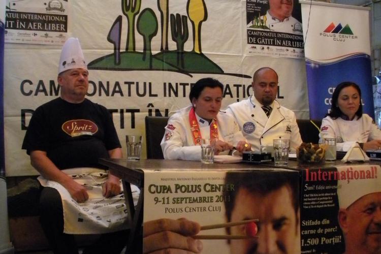 Campionatul International de Gatit in Aer Liber de la Cluj, in perioada 9-11 septembrie! Vezi totul despre concurs VIDEO