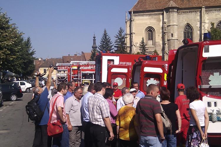 Ziua Pompierilor, sarbatorita in Piata Unirii! VIDEO si FOTO