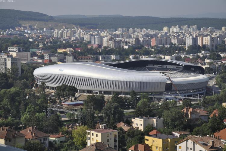 U Cluj va juca pe Cluj Arena! Vezi la cat a ajuns chiria ceruta de Consiliul Judetean Cluj