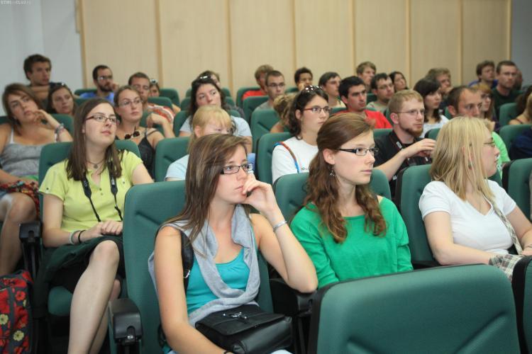 60 de masteranzi belgieni au vizitat USAMV Cluj-Napoca