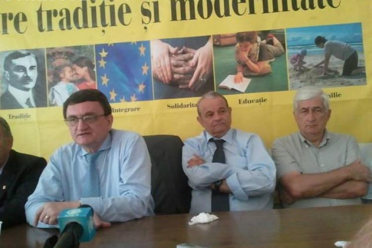 Ciorbea la Cluj: PNTCD trebuie sa revina in Parlament din 2012