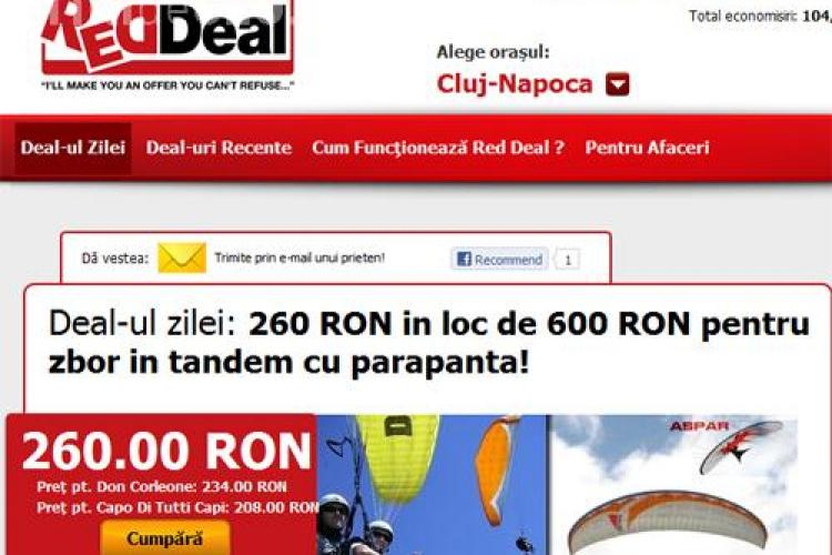 Red Deal reduce reducerile deja reduse! (P)
