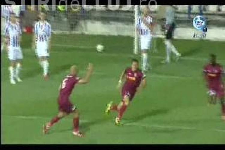 Gol Ronny! Otelul Galati - CFR Cluj 0-1 VIDEO