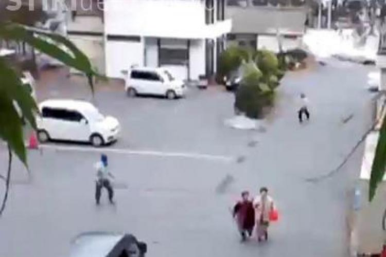 Imagini dramatice de dupa tsunami -ul din Japonia VIDEO