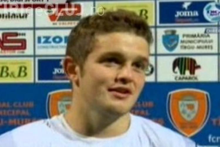 Sergiu Bus, huiduit de suporterii U Cluj: Ma bucur ca ma huiduie, eu sunt jucatorul CFR Cluj