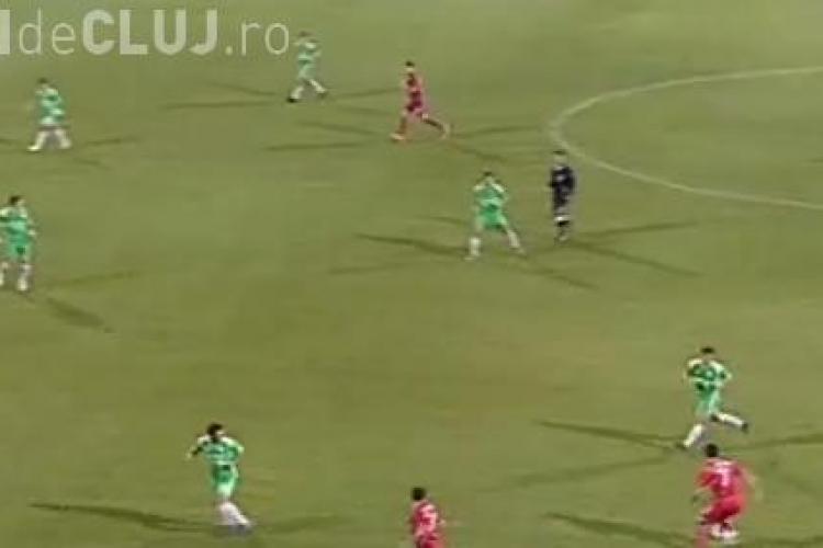Steaua - Sanatatea Cluj LIVE SCORE 4-0 Gol Popa VIDEO