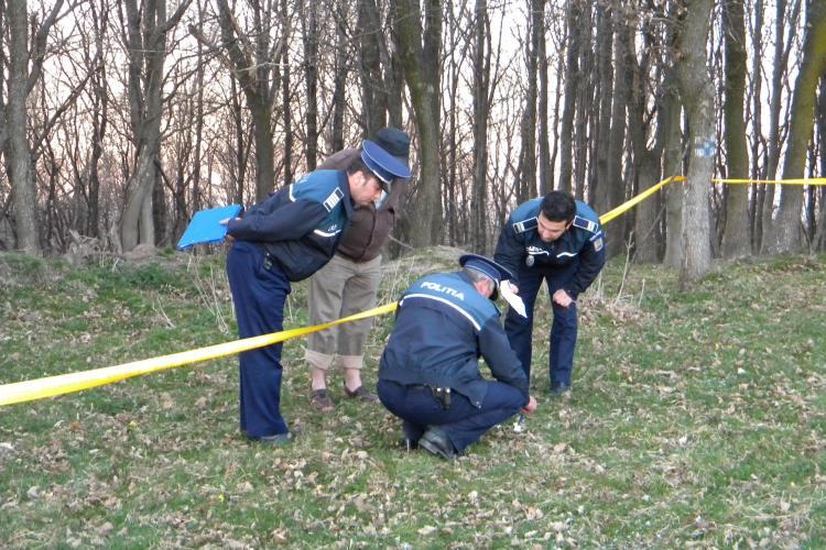 Executie in stil mafiot la Cluj? Resturi dintr-un cadavru gasite in comuna Cornesti! Victima avea un calus la gura VIDEO