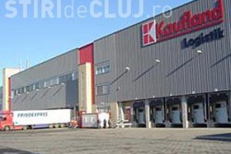 Accident de munca la depozitul Kaufland din Turda