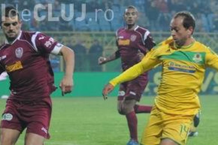 CFR Cluj - FC Vaslui / LIVE TEXT 2-0 Weldon a inscris cu capul VIDEO