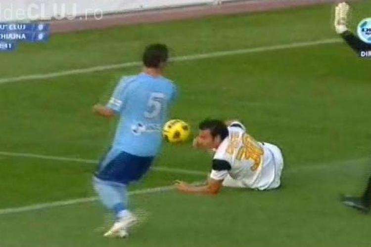 U Cluj a cedat 2 puncte de aur in meciul cu Concordia Chiajna REZUMAT VIDEO