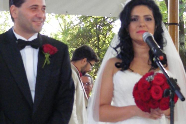 Bruneta de la PSD, Laura Pop, s-a maritat intr-o rochie de 5.000 de euro FOTO