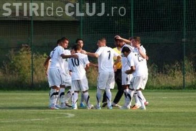 U Cluj II  a facut instructie cu Unirea Dej, scor 3-0