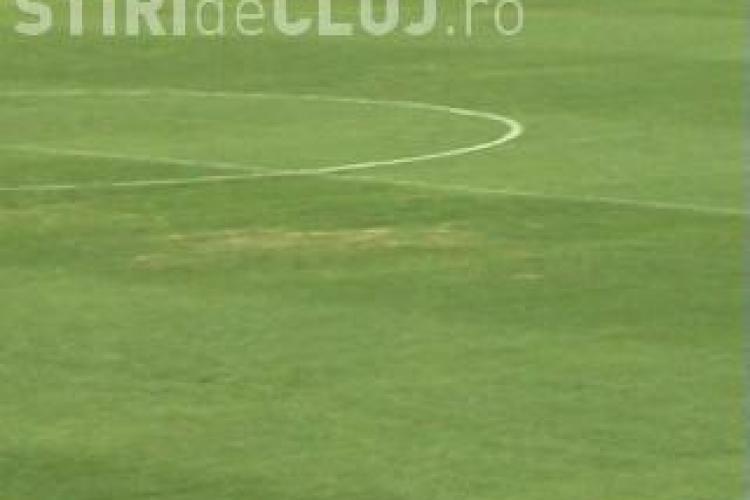 Se usuca iarba pe Cluj Arena? Sefii CJ Cluj spun ca nu sunt probleme VIDEO