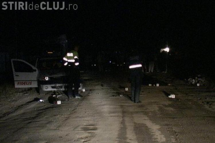 Doi scuteristi bauti, implicati in accidente langa Dej, in acelasi loc! Unul dintre ei a murit