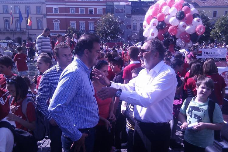 "Tiriac: ""Totul e deosebit la Cluj, dar Transilvania are nevoie de o autostrada"""