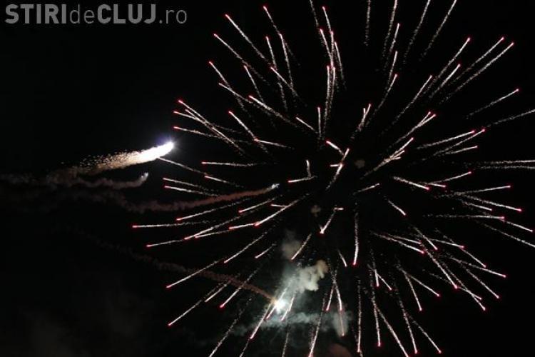 Cluj Arena - Foc de artificii spectaculos la inaugurarea stadionului! Publicul a fost de Champions League
