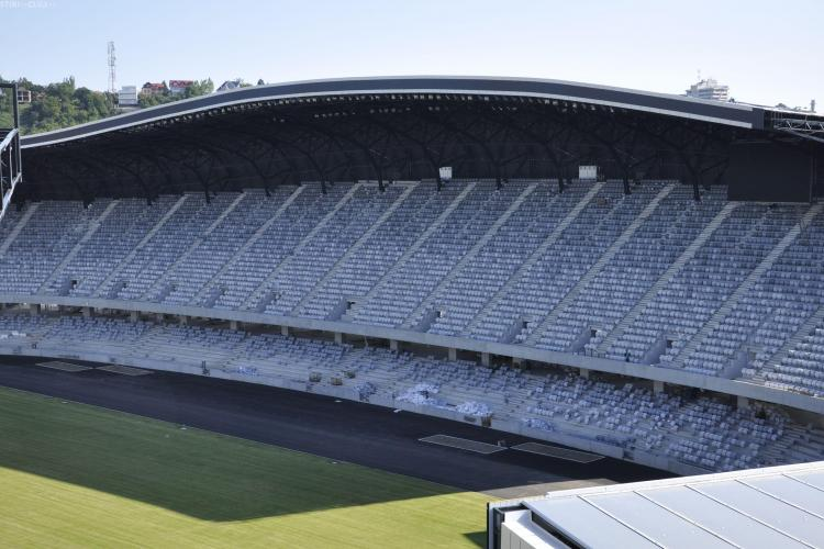 S-au montat toate scaunele pe Cluj Arena
