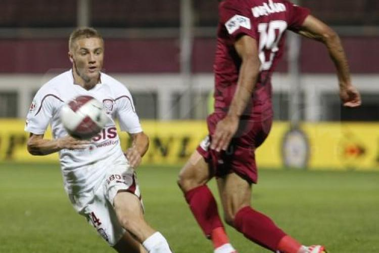 Rapid - CFR Cluj 1-1! Weldon a inscris si a adus un punct la Cluj REZUMAT VIDEO