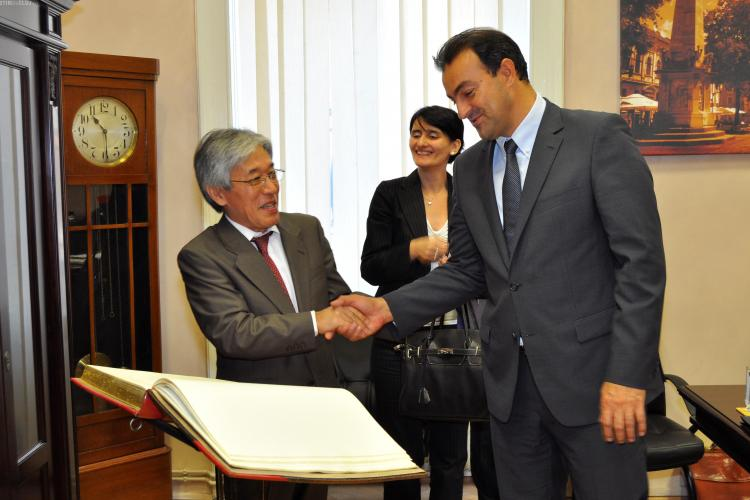 Ambasadorul Japoniei in vizita la Cluj-Napoca: Locul Nokia va fi luat de alti investitori