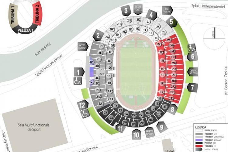 Bilete pentru meciul U Cluj - Kuban Krasnodar! VEZI cat costa si de unde pot fi cumparate